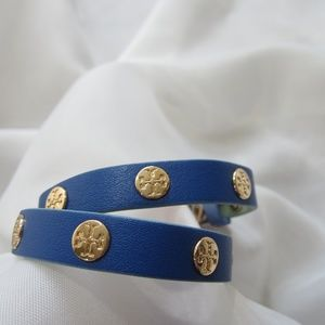 Tory Burch NWOT Reversible Logo Double Bracelet
